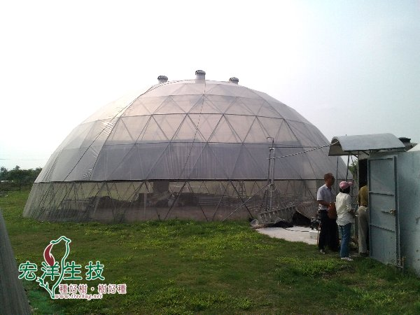 穹頂鳥巢溫室