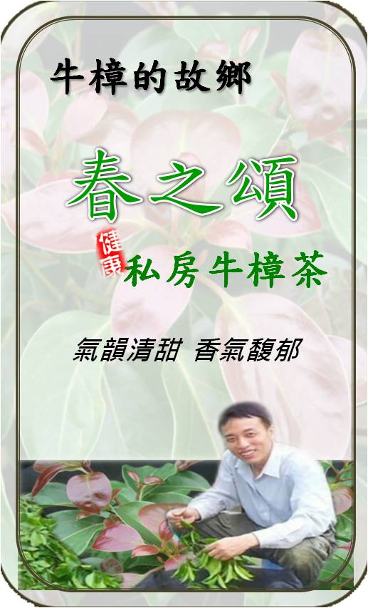 春之頌私房牛樟茶